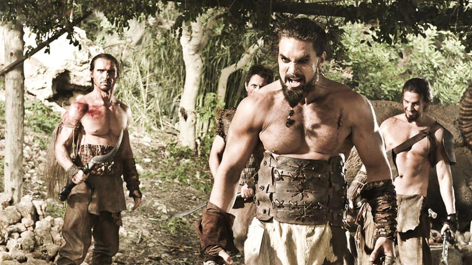 Kal Drogo and the Dothraki