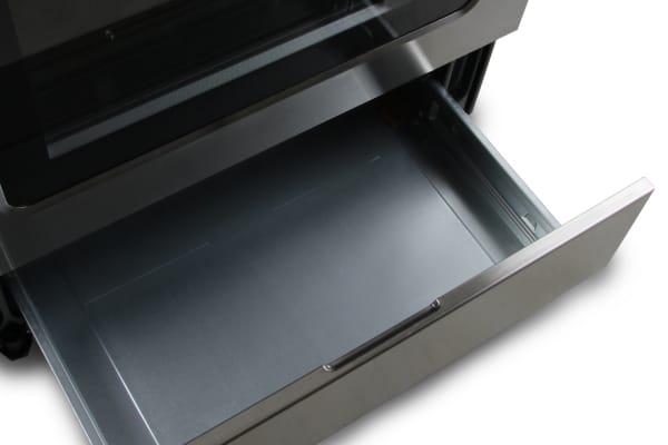 storage drawer open