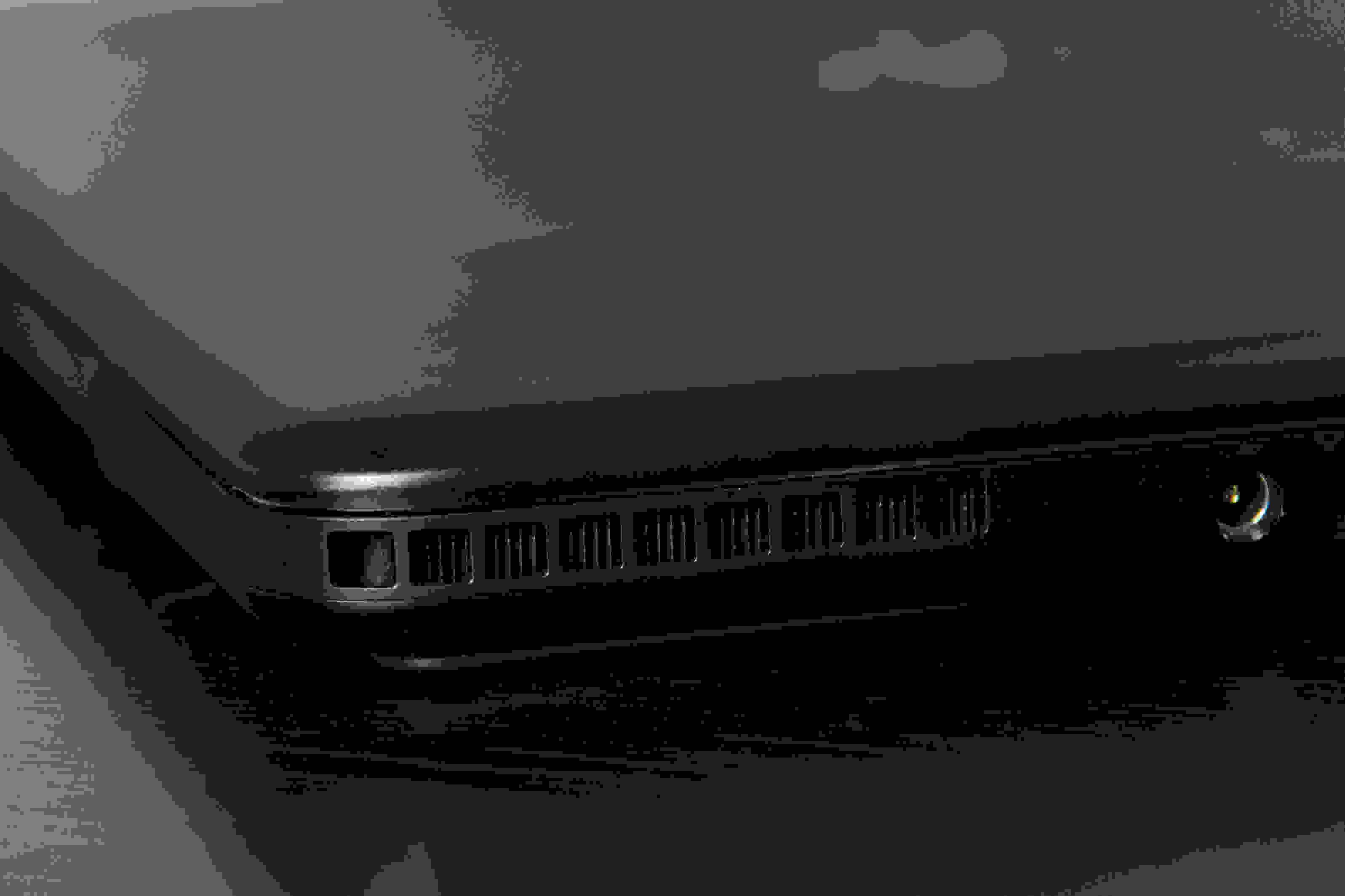 A photo of the Razer Blade Pro's exhaust.