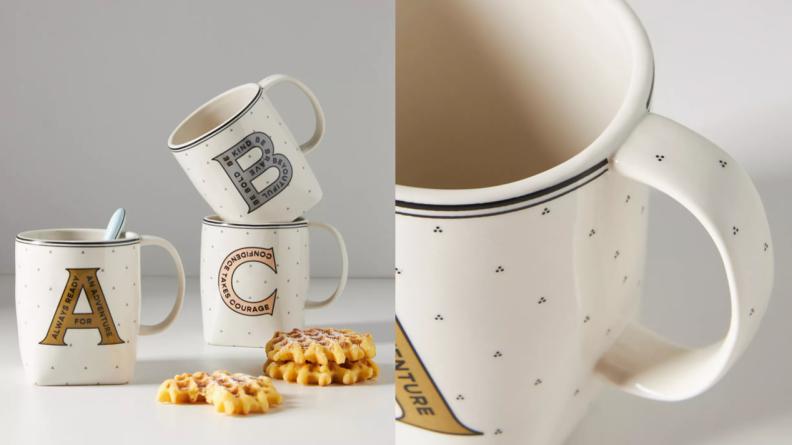 mongrammed mugs