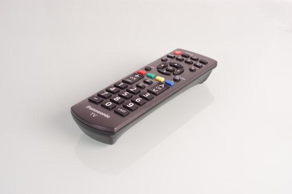 Panasonic TC32A400U remote control close-up