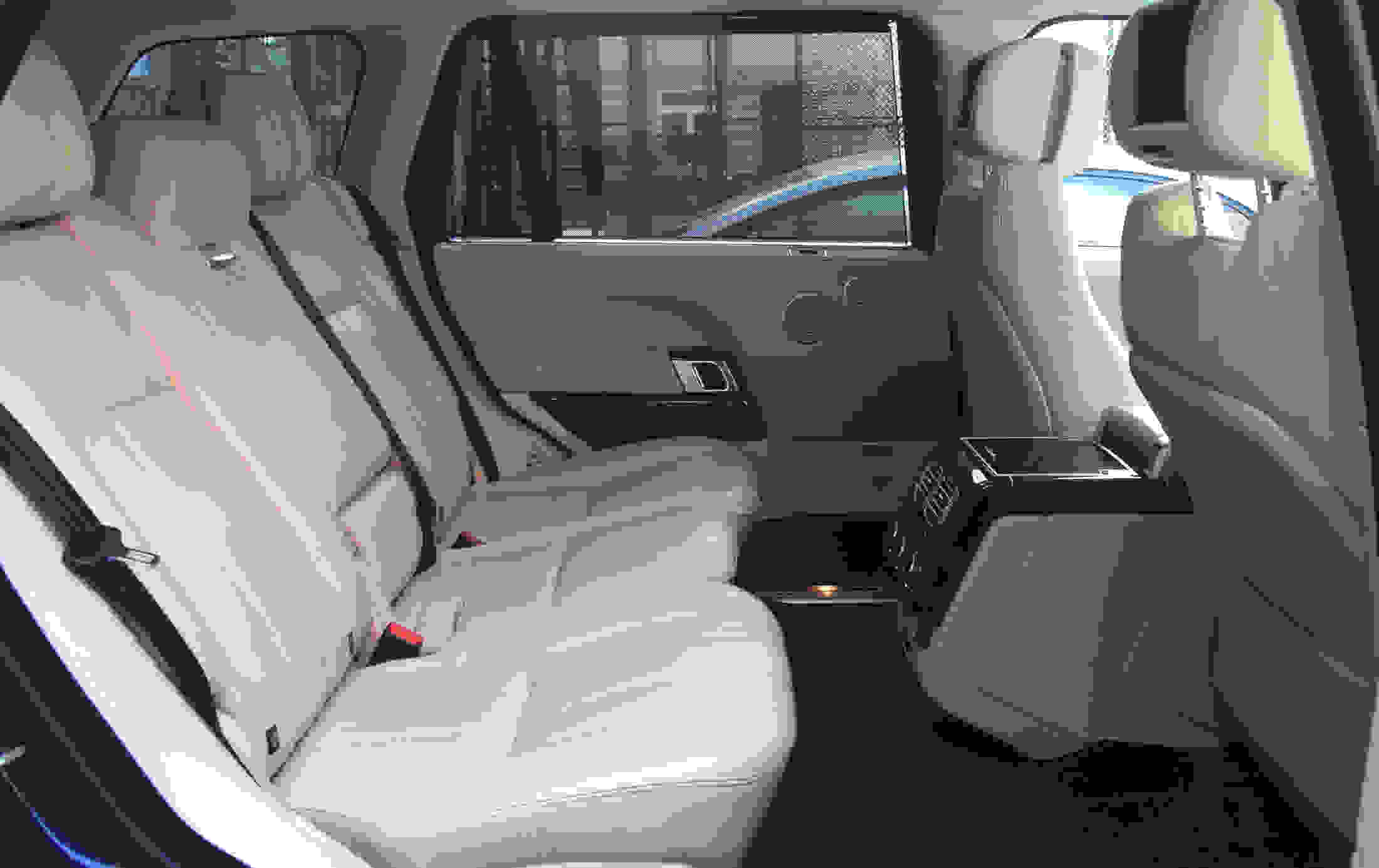 Comfortable rear seats