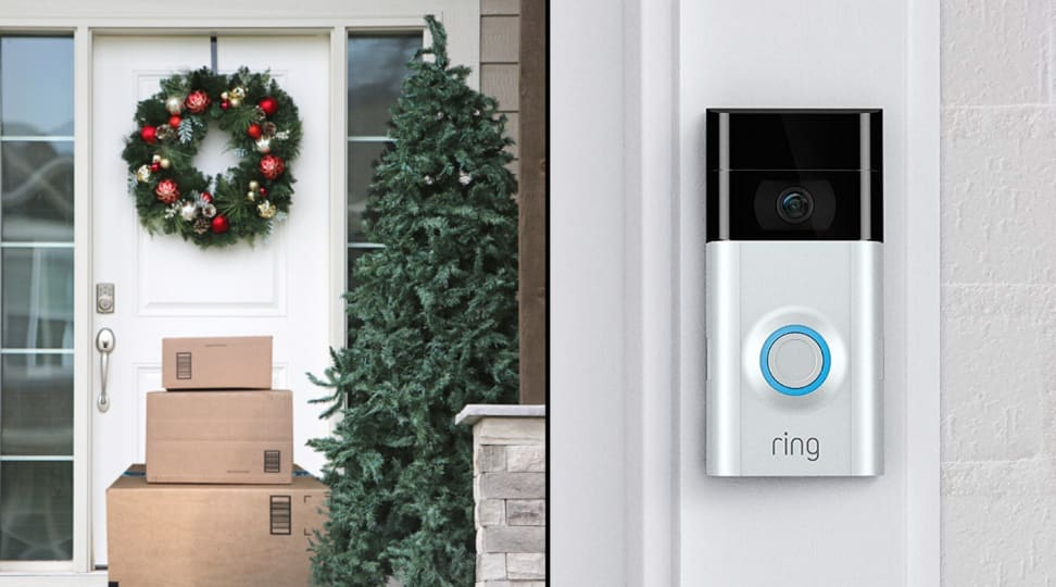 How smart doorbells can protect against holiday package theft