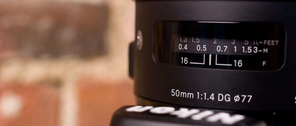 Product Image - Sigma 50mm f/1.4 DG HSM A