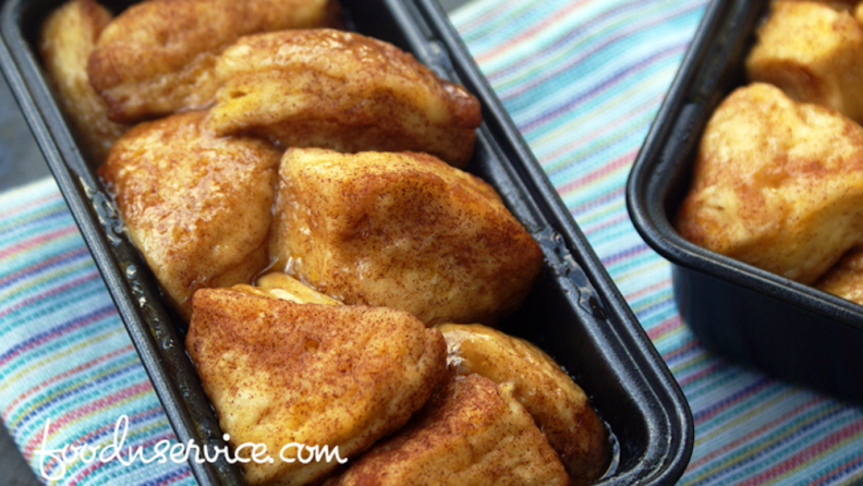 Instant Pot Monkey Bread