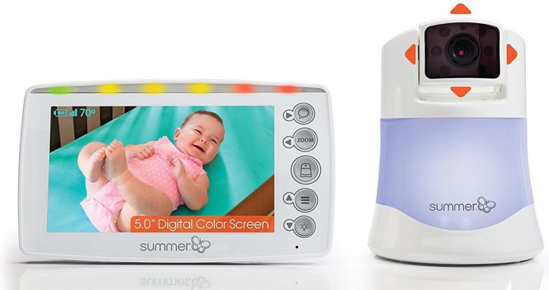 Product Image - Summer Infant Panorama Digital Color Video Baby Monitor
