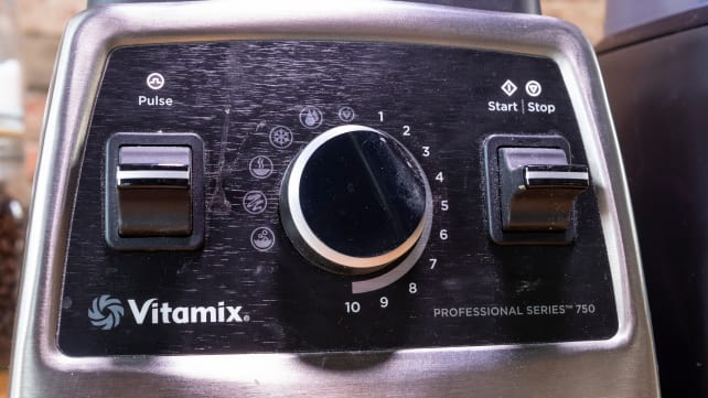 Vitamix Pro Series 750 Control Panel