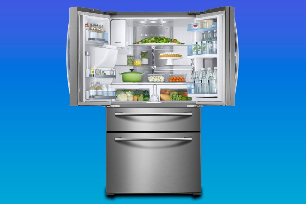 Samsung's 4-door French door refrigerator
