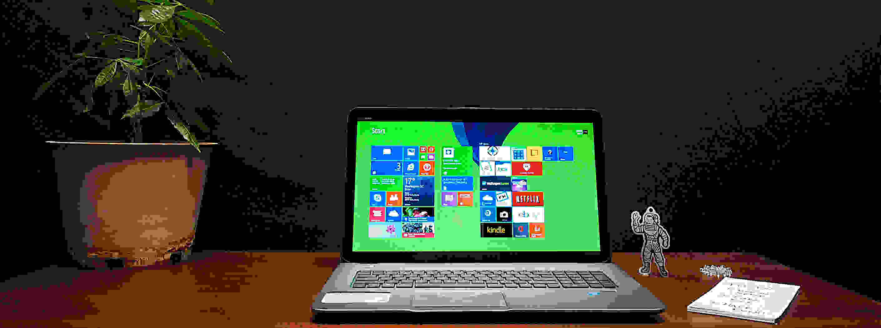 The HP Envy TouchSmart 17