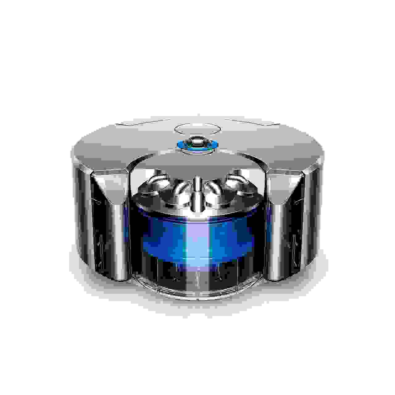 Dyson's robot vacuum fits the company's design language.