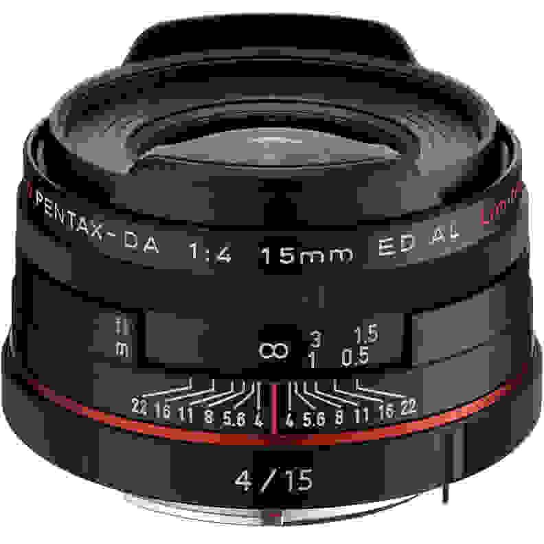 HD Pentax 15mm f/4 Limited Lens