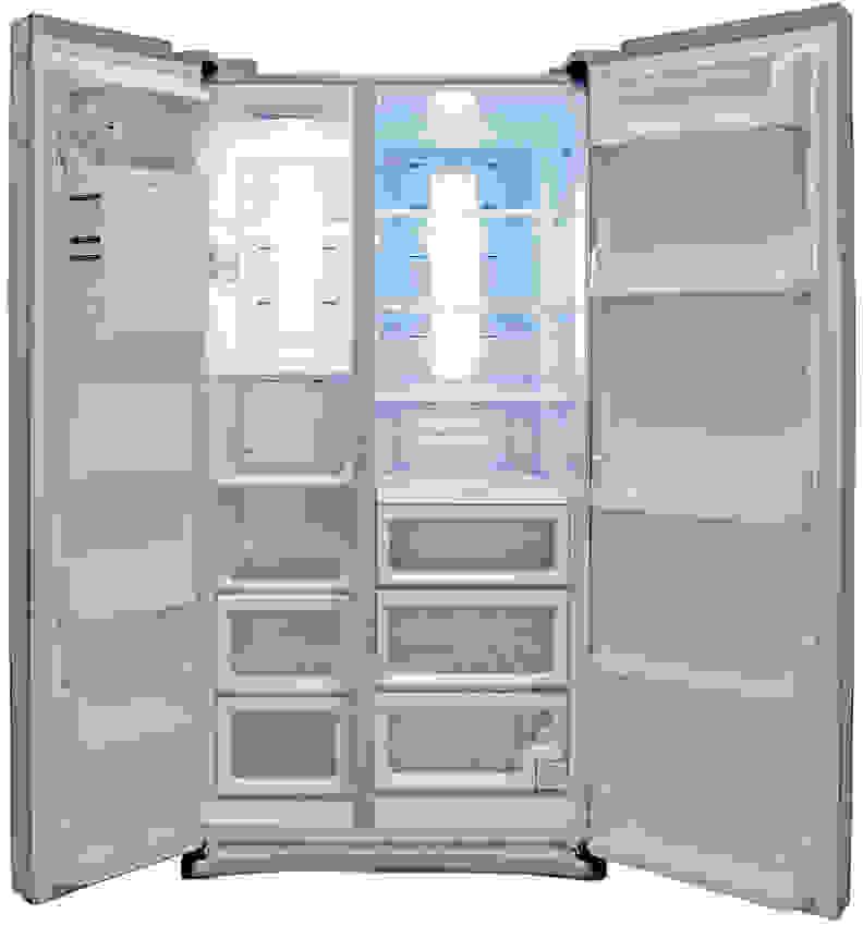 Samsung RS25H5121SR Interior