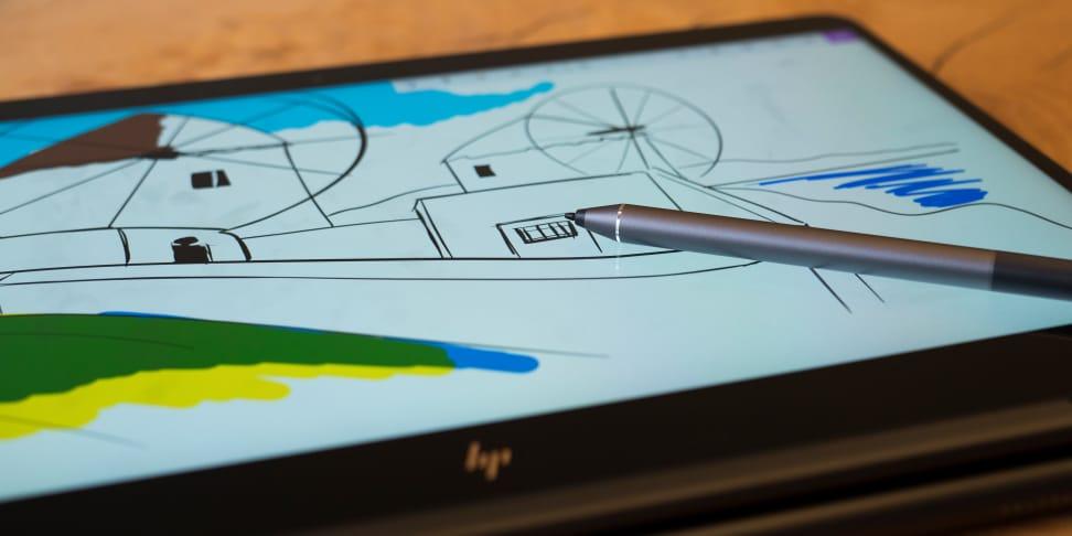 HP Spectre X360 15-inch pen