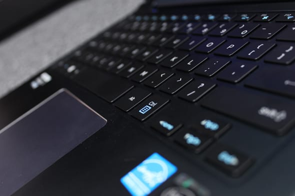 Both keyboard and touchpad are excellent on the ATIV Book 9 Plus.