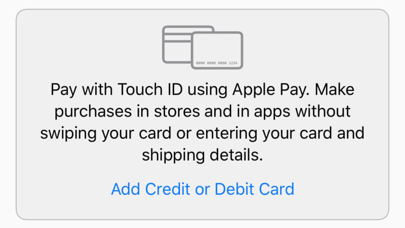 Apple Wallet App Add Card