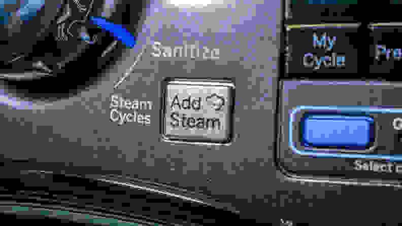 GE GFW450SPMDG Steam options