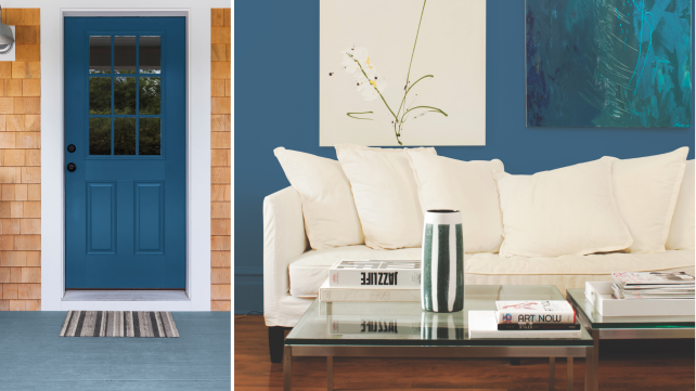 PPG-Color-of-the-Year-on-door-and-wall