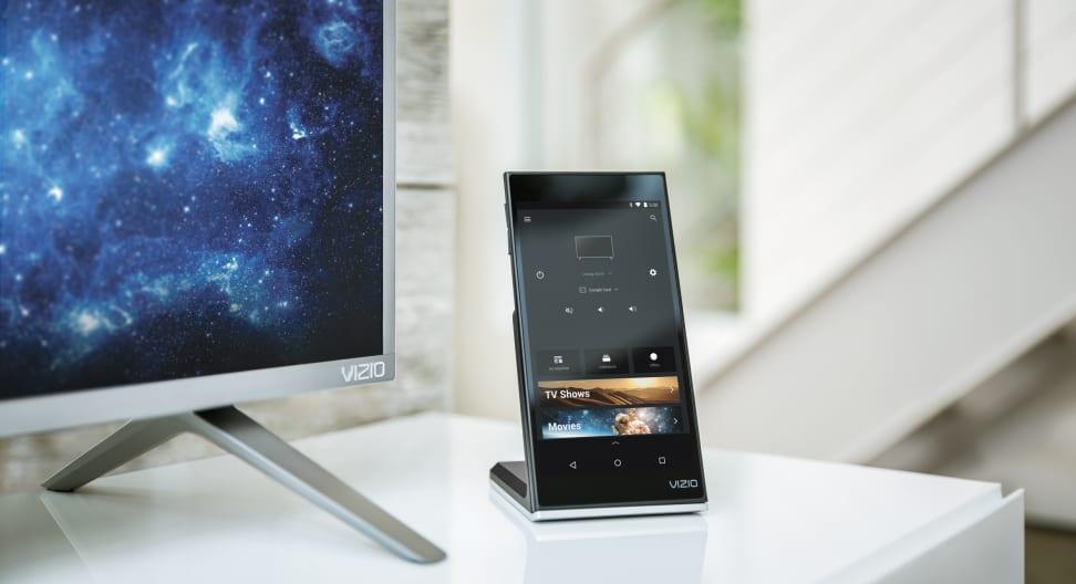 Vizio P Series TVs come with Smartcast tablet remotes.