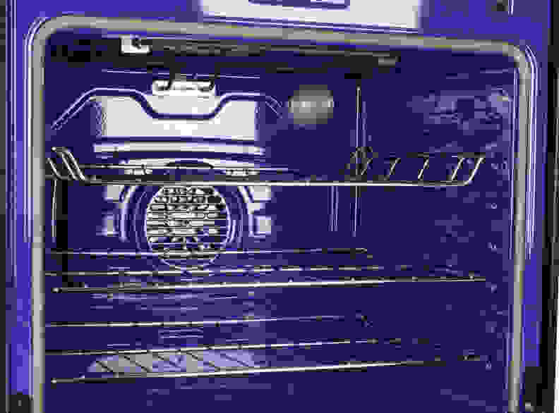 Interior of LG oven