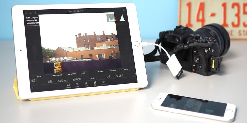 iPad Lightroom Mobile RAW Editing
