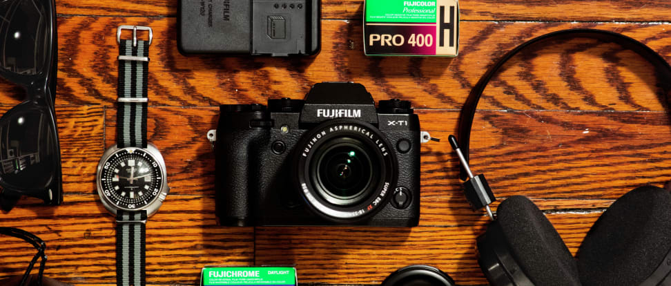 hero image of the Fujifilm X-T1