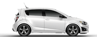 Product Image - 2013 Chevrolet Sonic Hatchback RS Manual