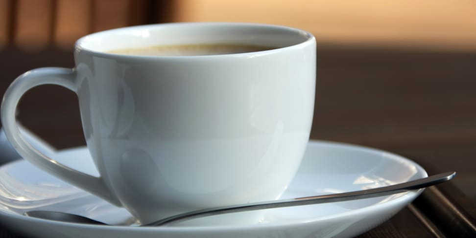 A delicious, caffeine-filled cup of coffee