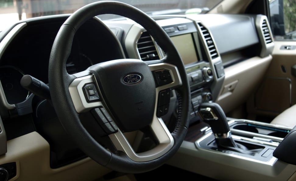 Ford F-150 Lariat Interior