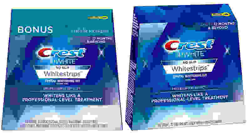 Crest 3D and Professional Whitestrips