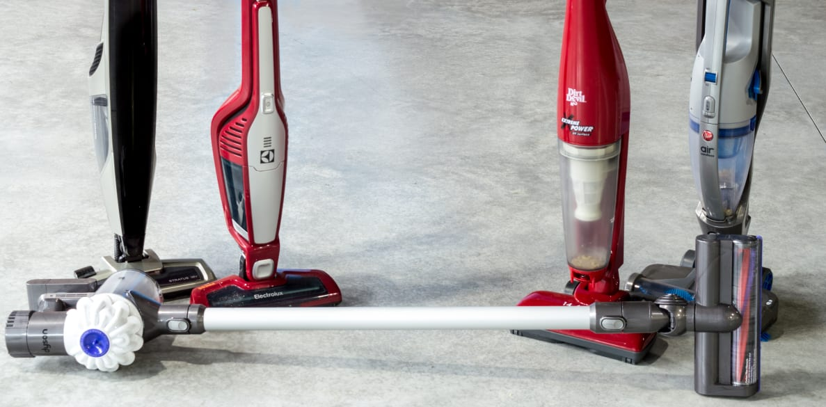 Our top five cordless stick vacuums for 2015
