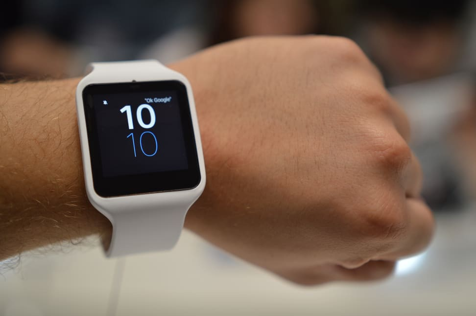 The Sony SmartWatch 3
