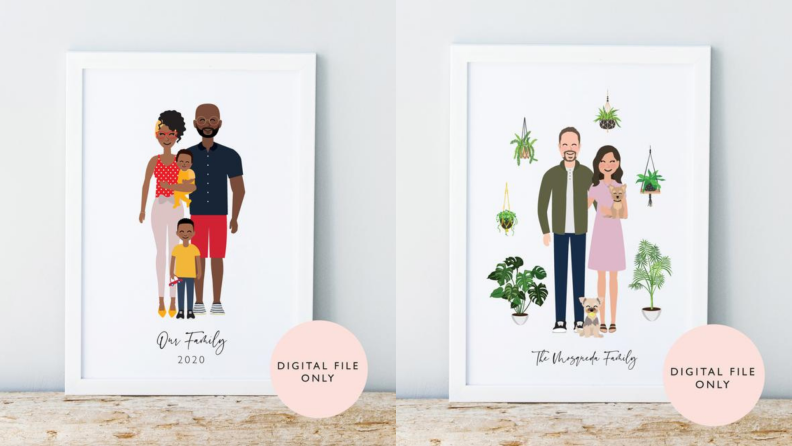 Personalized Family Portrait