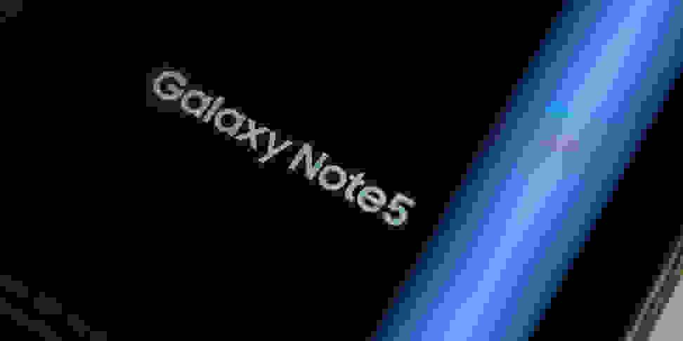 Samsung Note 5 Logo