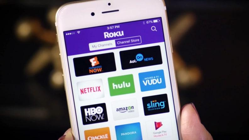 Roku Mobile App on iPhone