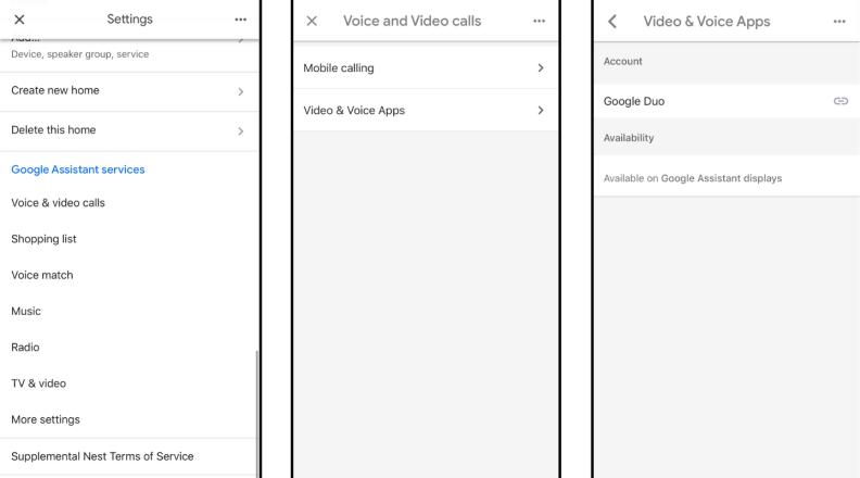 Google Duo Setup