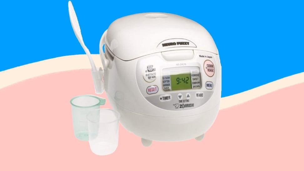 The Zojirushi rice cooker