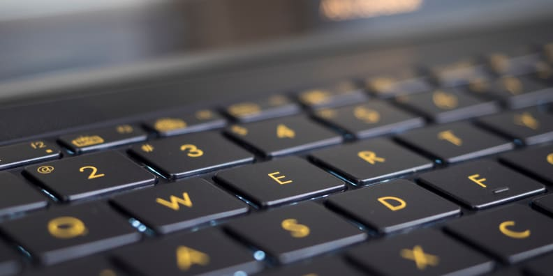 Asus ZenBook 3 Keyboard