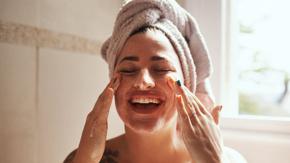 Here's how you should wash your face, according to your skin type