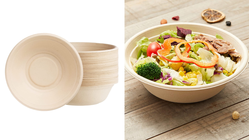 Compostable bowls