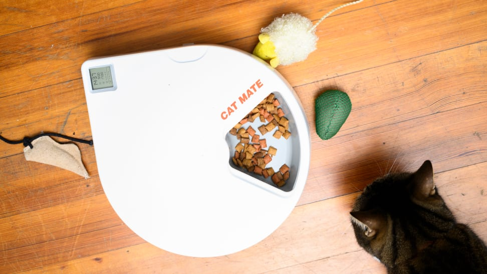 The Cat Mate C500 automatic pet feeder