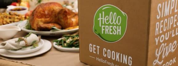 Hellofresh thanksgiving hero