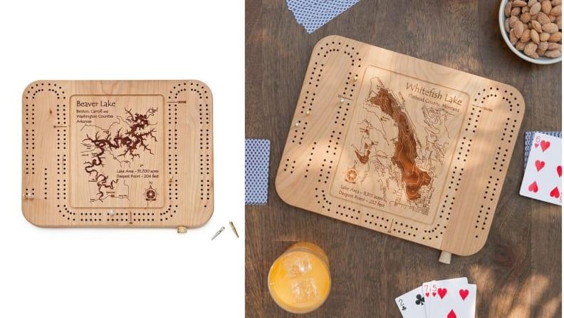 Custom Cribbage Board