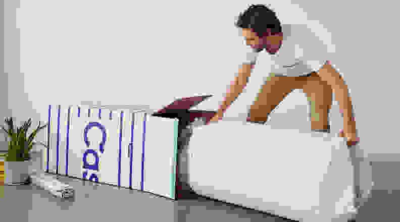 Casper mattress in a box delivery