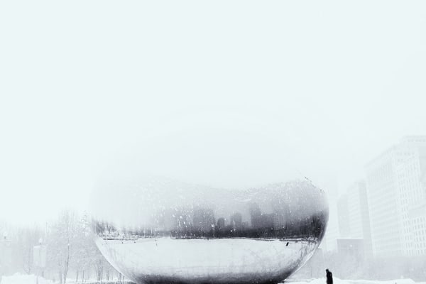 This snowy landscape was expertly snapped by iPhone photographer Cocu Liu. [Credit: Cocu Liu/IPPA]