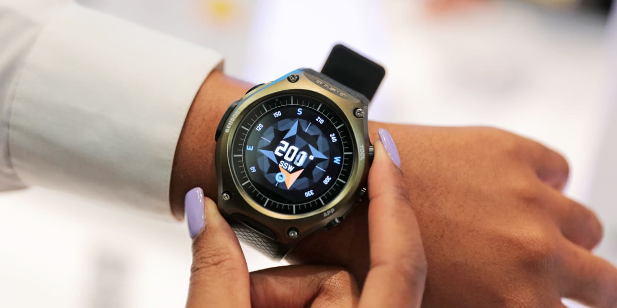 With its unique outdoor features and a rugged function-based design, casio carries on its strong tradition of timepiece innovation.