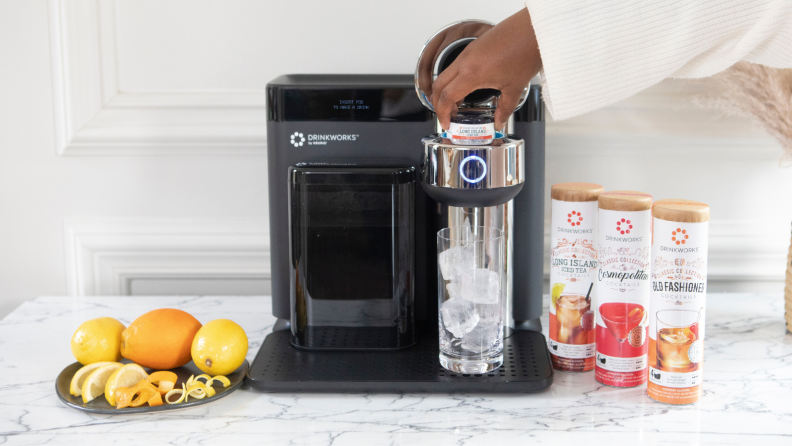 If you've used a Keurig, there's no learning curve to operate this machine.