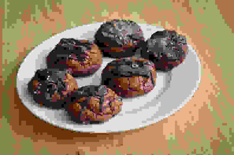 Jamie Oliver's Double Chocolate Malt Cookies