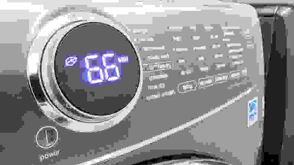 Electrolux-dryer-control-panel