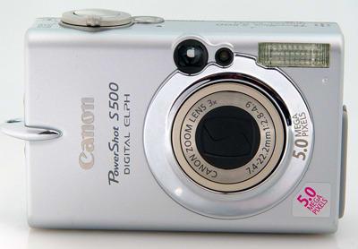 Product Image - Canon PowerShot S500