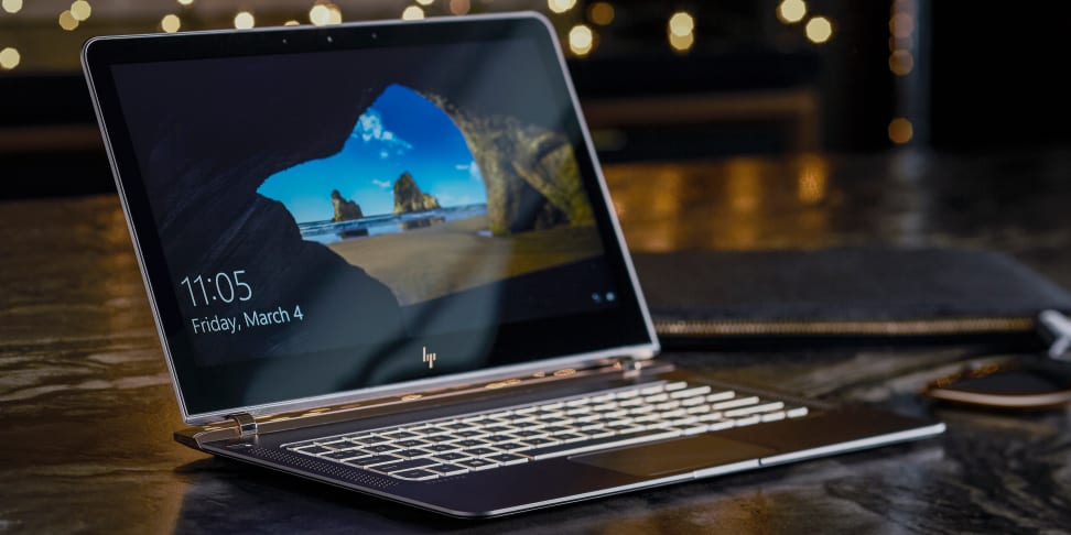 The HP Spectre ultrabook